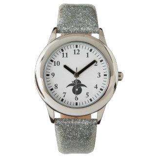Knot wild goose gold wristwatch
