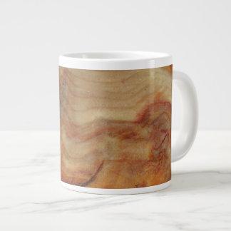 Knot wood jumbo mug