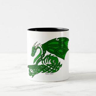 Knot-work Dragon Mug