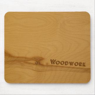 Knotty Wood mousepad