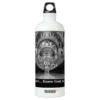 Know God Water Bottle