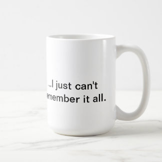 """Know It All"" Coffee Mug"