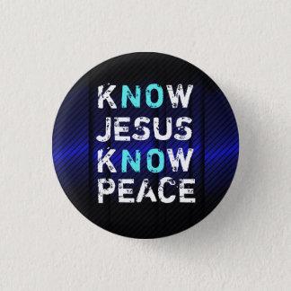 Know Jesus Know Peace Button