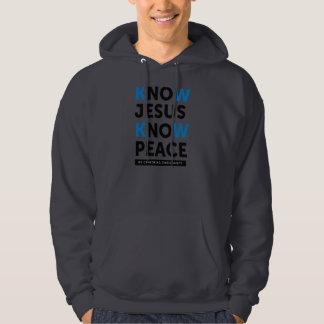 Know Jesus Know Peace, No Censorship Hoodie