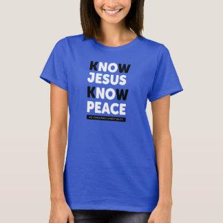 Know Jesus Know Peace, No Censorship T-Shirt