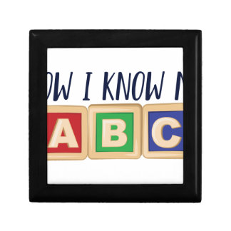 Know My ABC Small Square Gift Box
