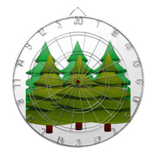 KNOW THE FOREST DARTBOARD