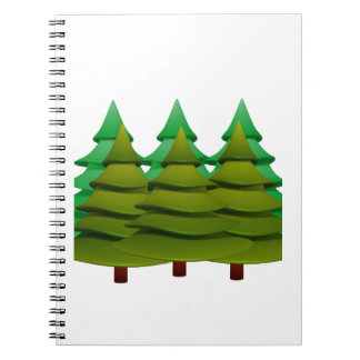KNOW THE FOREST SPIRAL NOTEBOOK