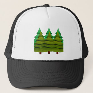KNOW THE FOREST TRUCKER HAT
