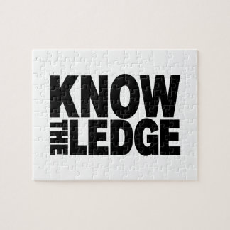 KNOW THE LEDGE JIGSAW PUZZLE
