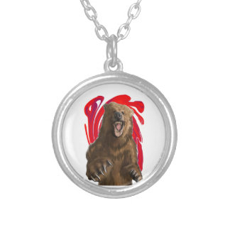 KNOW THE POWER SILVER PLATED NECKLACE