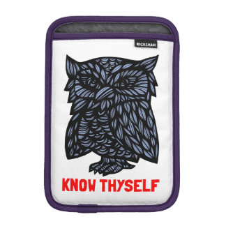 """Know Thyself"" iPad Mini Soft Case"