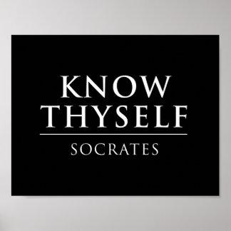 Thyself Posters | Zazzle.com.au