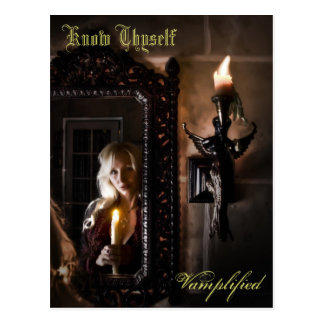 Know Thyself Vamplified Postcard