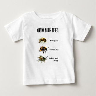 Know Your Bees Baby T-Shirt