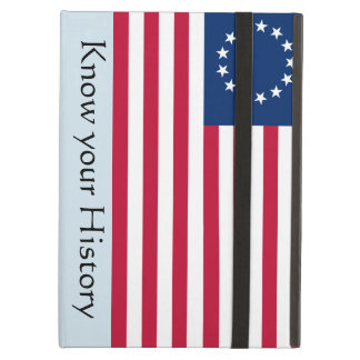 Know your History Betsy Ross US Flag iPad Case