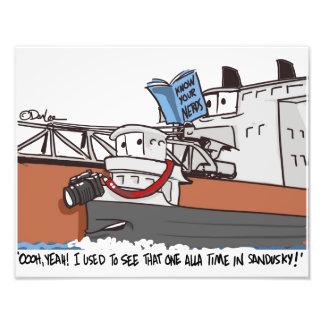 Know your nerds cartoon photo art