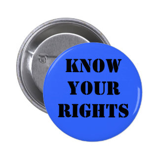 Know Your Rights-button