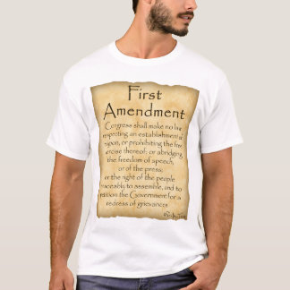 Know Your Rights-First Amendment T-Shirt