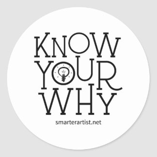 Know Your Why Smarter Artist Sticker Sheet