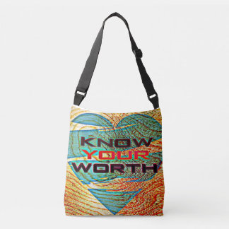 Know Your Worth Crossbody Bag