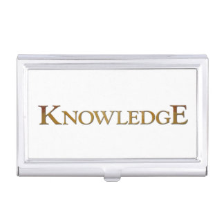 Knowledge Business Card Holder