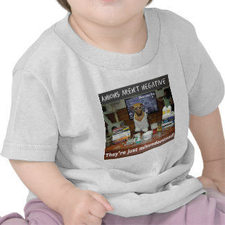 Knowledge Dog Anions aren t negative Shirt