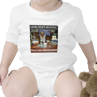 Knowledge Dog Anions aren t negative T Shirts