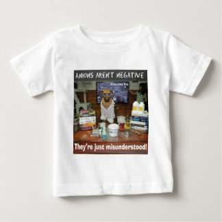Knowledge Dog Anions aren't negative Baby T-Shirt
