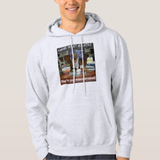 Knowledge Dog Anions aren't negative Hoodie
