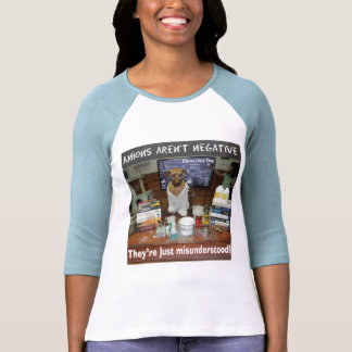 Knowledge Dog Anions aren't negative Shirt