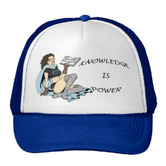 Knowledge ice Power Mesh Hat
