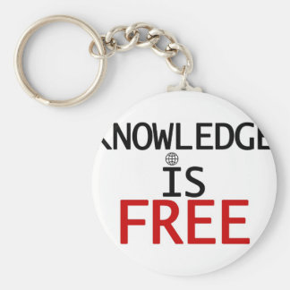 knowledge is free key chains