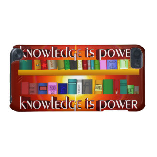 Knowledge is Power Bookscase iPod Touch (5th Generation) Covers