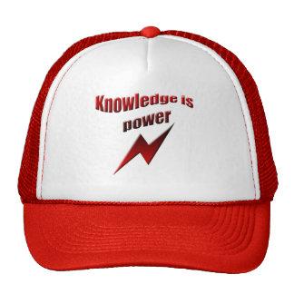 Knowledge is power cap