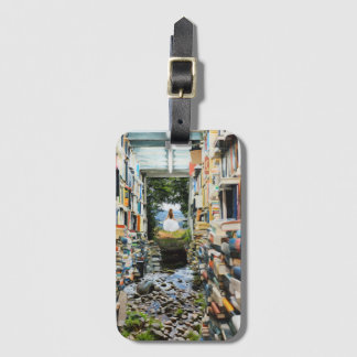 Knowledge is Power Luggage Tag