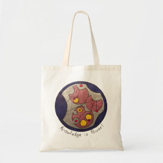 Knowledge is power Tote bag