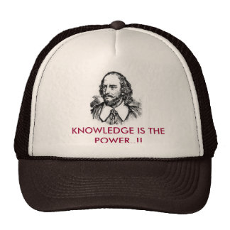 knowledge is the power cap