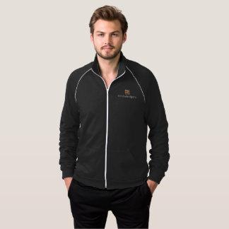 Knowledgent Men's Fleece Track Jacket