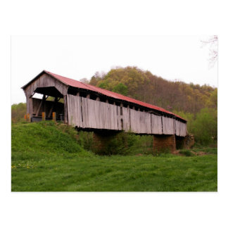 Knowlton Covered Bridge Postcard