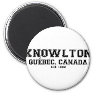 Knowlton Quebec Souvenirs 6 Cm Round Magnet
