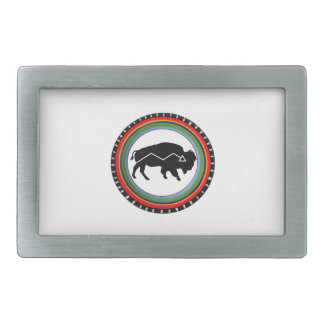 KNOWN TO THRIVE RECTANGULAR BELT BUCKLE