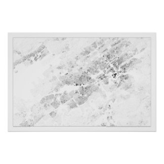 Knoxville Census Dotmap Poster