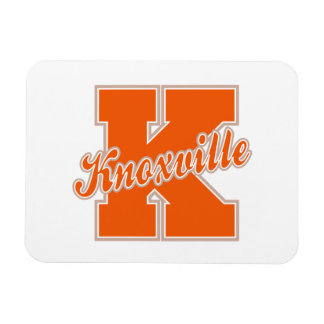 Knoxville Letter Rectangular Photo Magnet