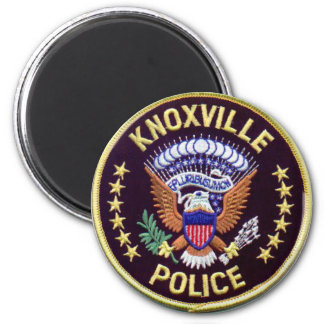 Knoxville Police Refrigerator Magnet