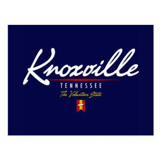 Knoxville Script Postcard