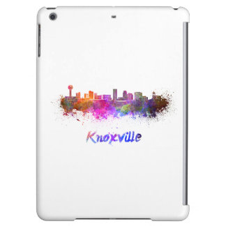 Knoxville skyline in watercolor