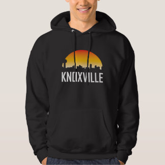 Knoxville Tennessee Sunset Skyline Hoodie