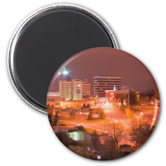 knoxville tn at night magnet