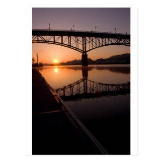 Knoxville, TN Sunrise Postcard
